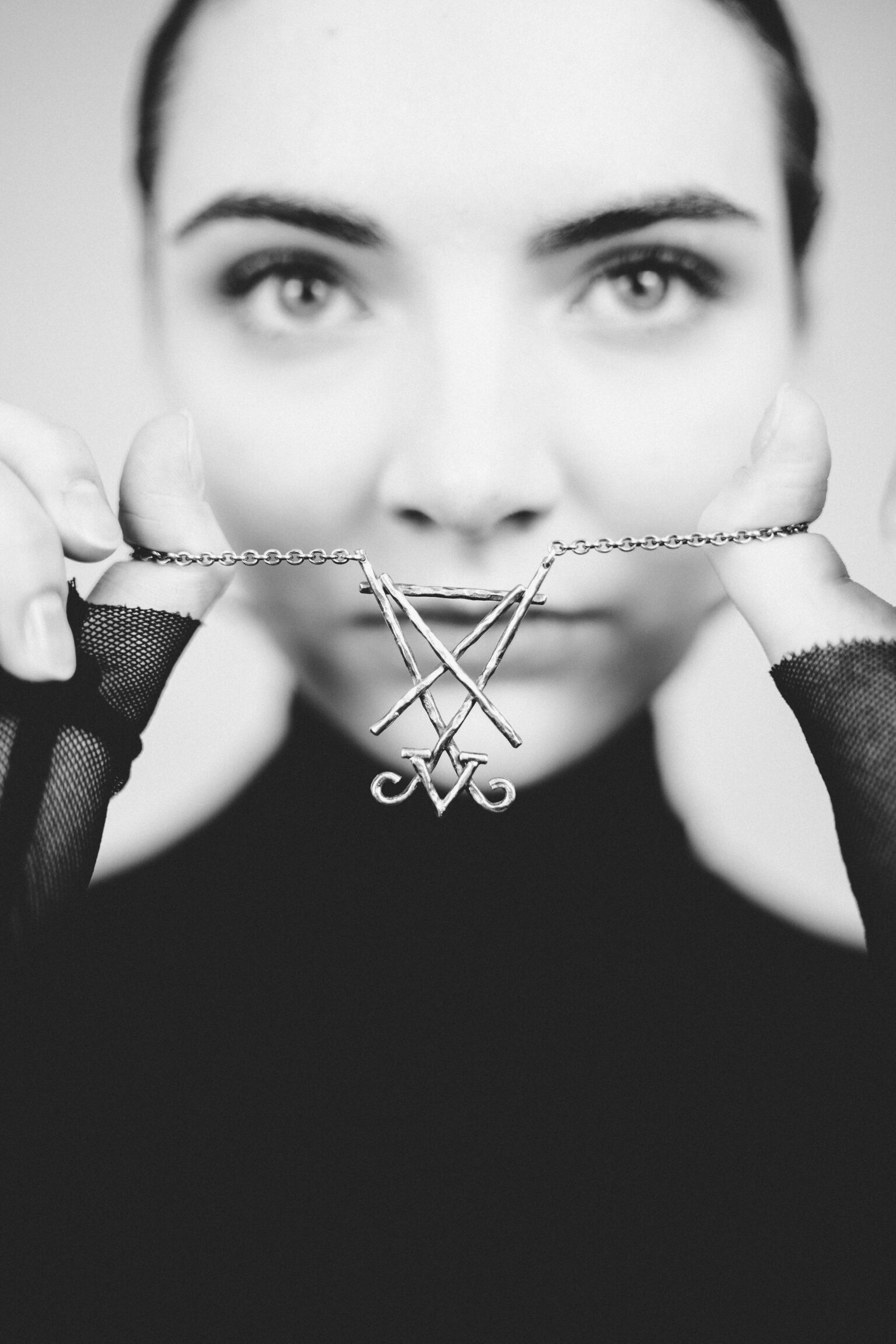 Lucifer Sigil necklace pendant by Atelier Maureen Centen